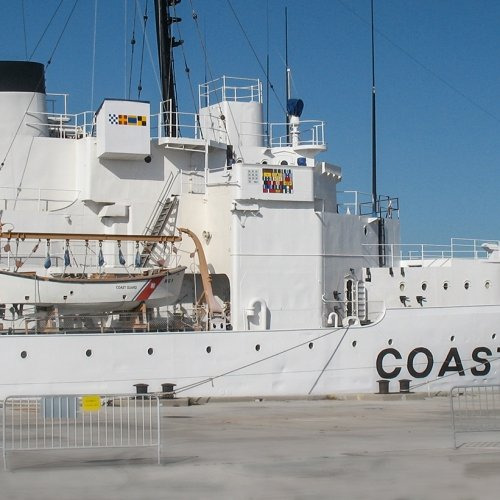 Coast Guard Cutter Ingham.