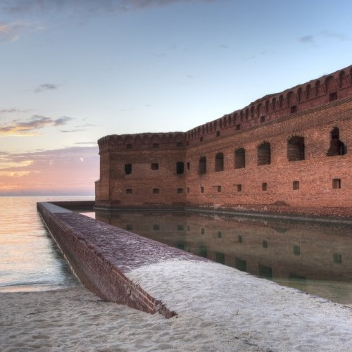 Sunset in the Dry Tortugas.