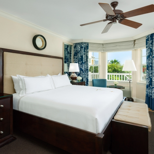 Ocean View Balcony King at Southernmost Beach Resort.