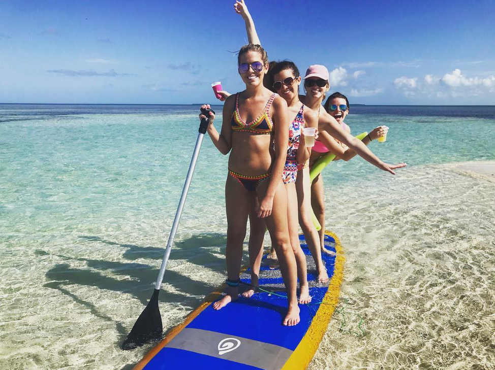 Travel with the girls is good for your health!