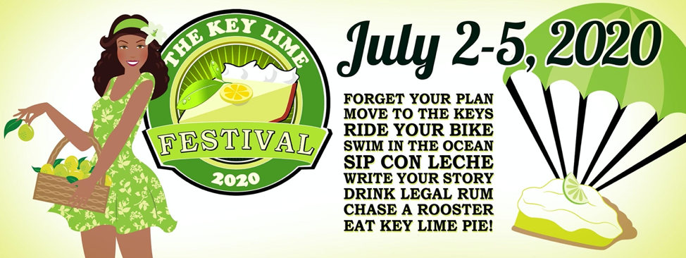 Graphic about Key Lime Pie Festival