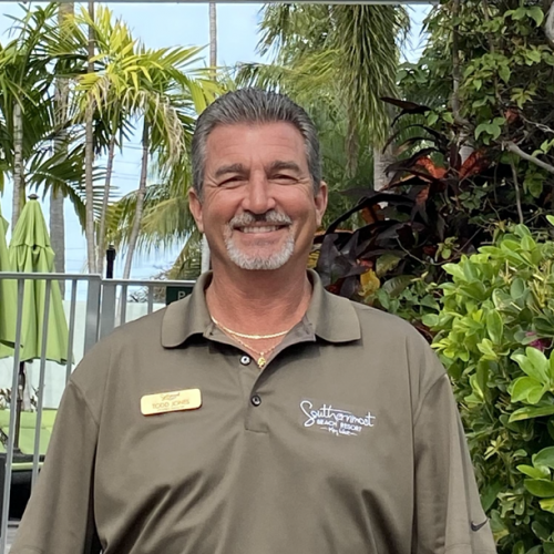 Photo of Todd Jones, Property Manager at the Southernmost Beach Resort.