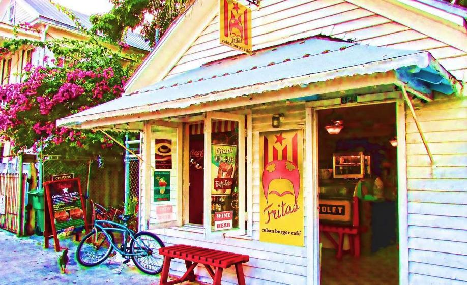 Fritas Cuban Burger Cafe in Key West