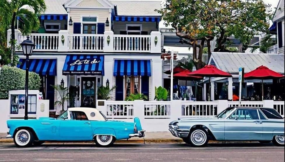 La Te Da is a Key West landmark located on the world-famous Duval Street