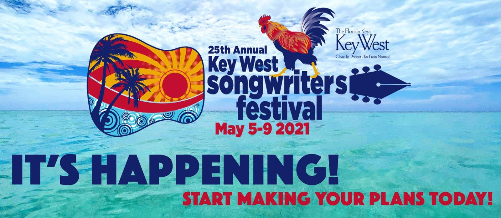 2021 Key West Songwriters Festival Poster
