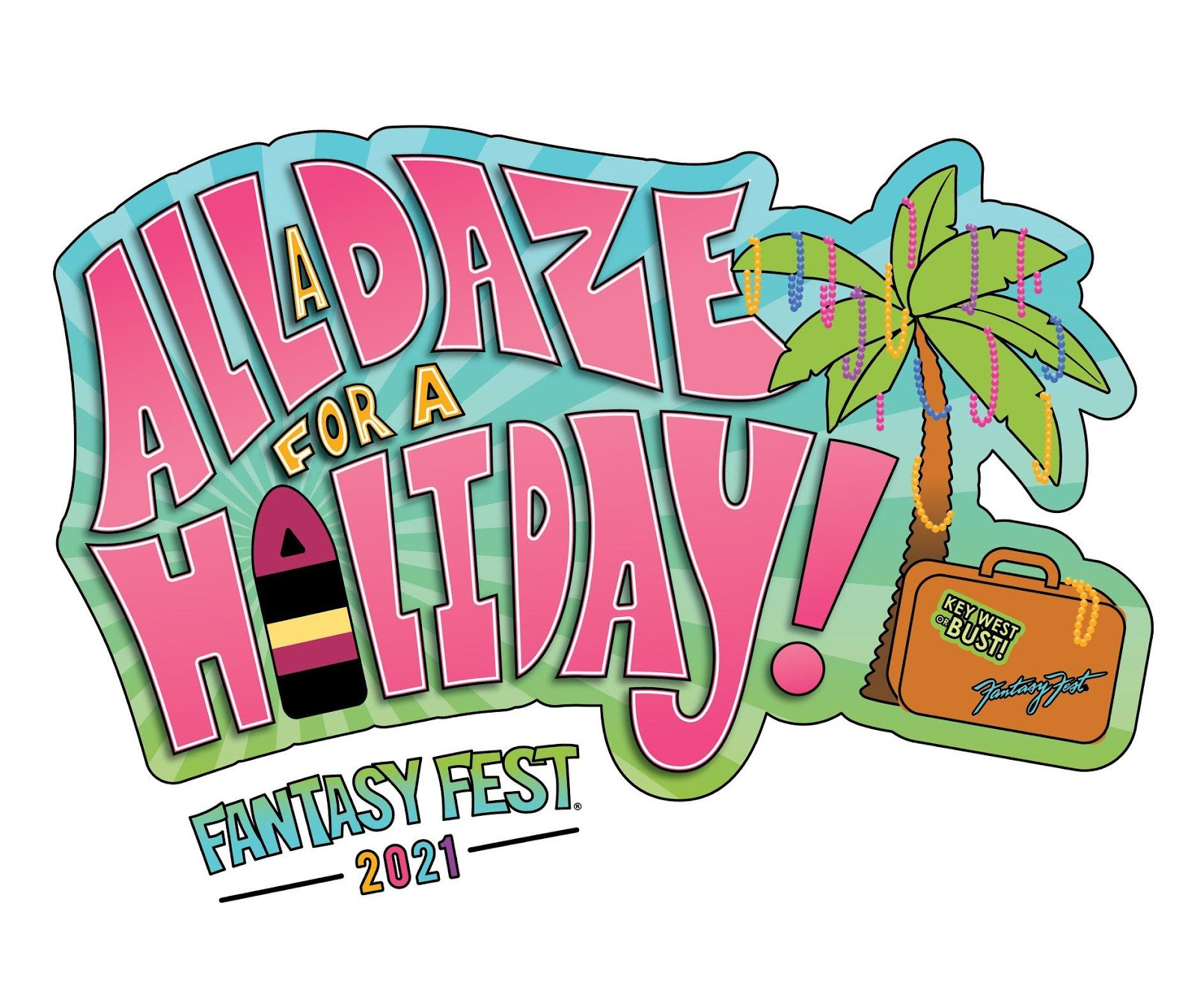 colorful Fantasy Fest logo
